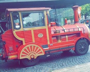 Die Bimmelbahn für unsere Stadtrundfahrt
